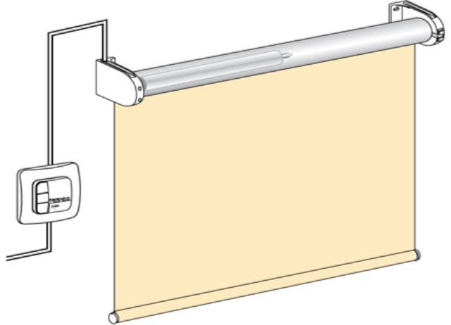 Автоматическая рулонная штора своими руками